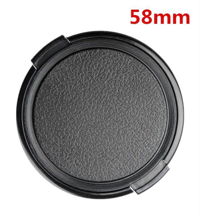 49mm 52mm 55mm 58mm 62mm 67mm 72mm 77mm 82mm 86mm tampa da lente da câmera tampa de proteção lente tampa frontal para canon nikon lente dslr