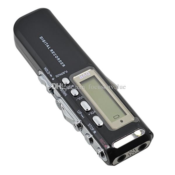 HD Dictaphone 8GB Digital Voice Recorder 4GB Voice Activated USB Pen Digital Audio Voice Recorder With MP3 Player