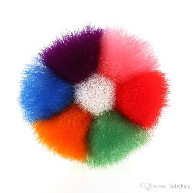 Новый ногтей пыль удалить щетка для очистки красочные волокна волос УФ-гель порошок блеск порошок очиститель горный хрусталь Макияж Маникюр Оптовая