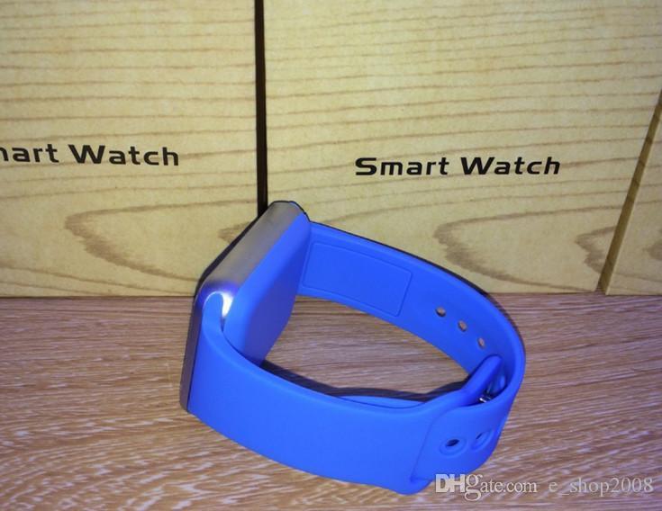 Bluetooth Akıllı İzle A1 Bilek İzle Erkekler Spor Iwatch stil IOS Apple Android Samsung smartphone için DHL ücretsiz izle