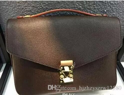 Frete Grátis de Alta Qualidade Couro Mulheres Bolsa Bolsas De Ombro Bolsas Crossbody Bags Messenger Bag M40783650