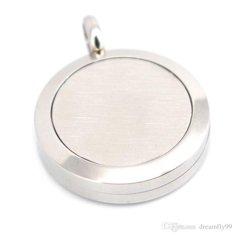 Открытый цветок 25 мм диффузор 316 из нержавеющей стали ожерелье кулон аромат медальон эфирное масло диффузор медальоны отправить 100 шт. масла колодки как подарки