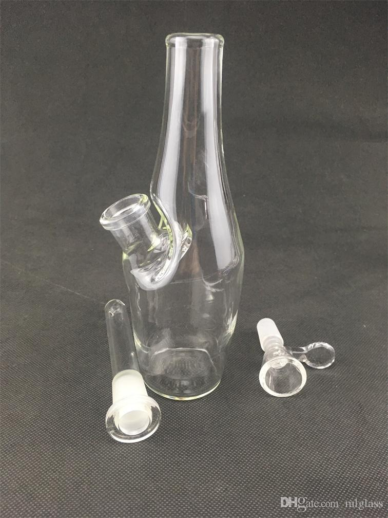 La nueva botella de cristal clara barata Bong, es fácil limpiar el precio directo de la entrega del precio de fábrica de la torre de cristal