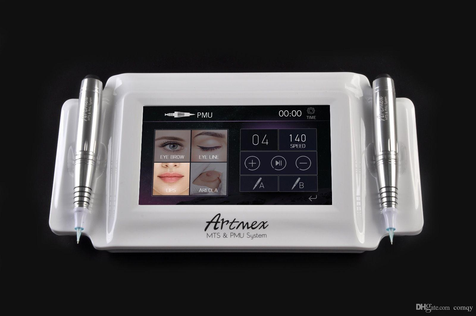المحمولة المهنية ماكياج الدائم آلة الوشم الرقمية Artmex v8 ديرما القلم لمس الشاشة الحاجب الشابة mts pmu العناية بالبشرة الجمال