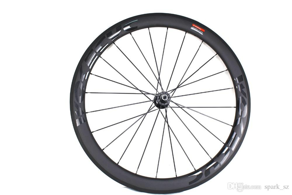 Carbon fiber bicycle wheels 50mm BOB basalt brake surface clincher tubular road cycling bike wheelset Novatec powerway Hubs available