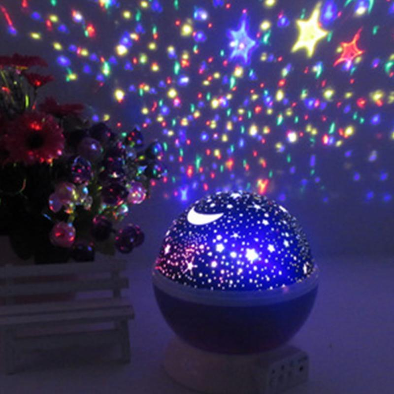 Bedroom novelty night light projector lamp jpg