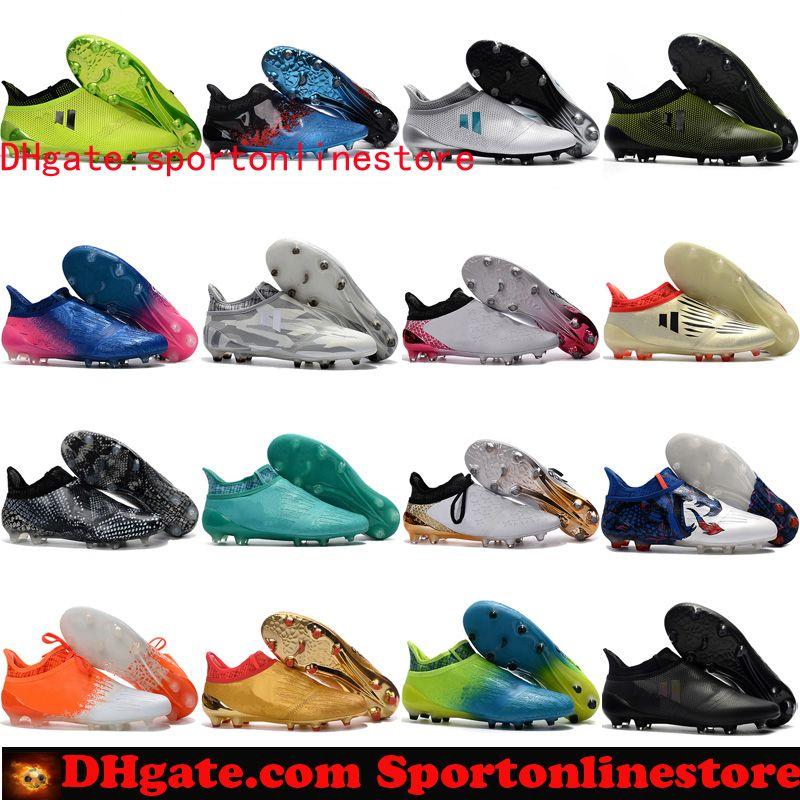 2017 Original X 16 Purechaos FG AG Purecontrol Cheap Soccer Cleats ... 9d7af233f3043