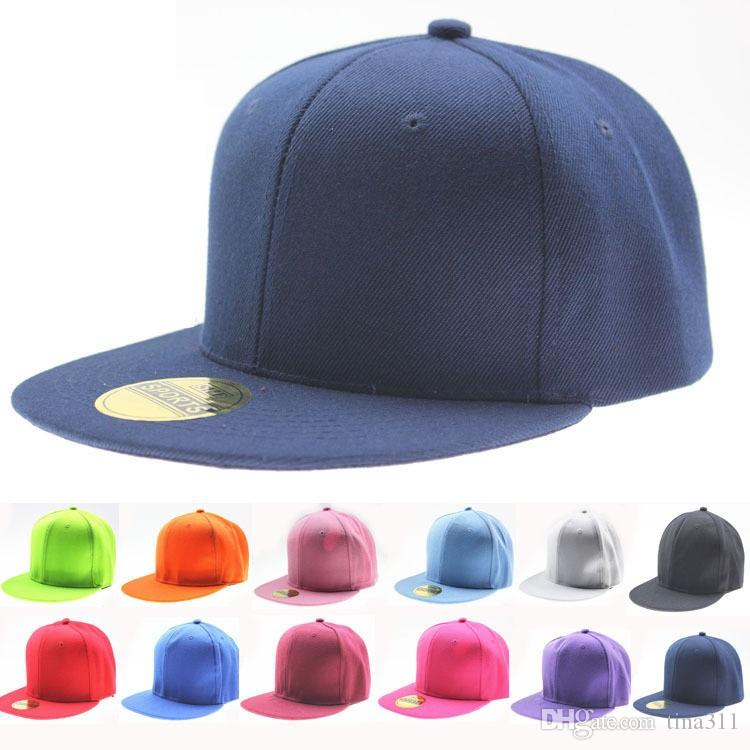 ad330a28 High Quality Hot Selling Plain Blank Snapback Hats Black Snapbacks Snap  Back Caps Hat CC504 Mens Hats Baseball Cap From Tina311, $2.23| DHgate.Com
