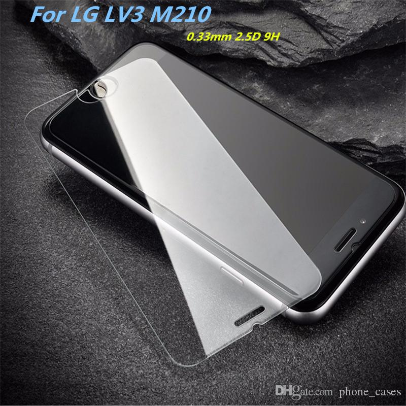 For ZTE Grand X4 Z956 Tempered Glass Screen Protector For LG Aristo K8 2017  LV3 Metropc X Power K10 Film Anti-shatter Paper Package