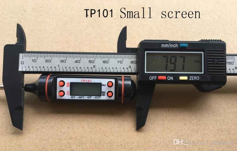 TP101 Digital Thermometer Sensor Sonde TP 101 Elektronische BBQ Küche Kochen Lebensmittel Termometro Temperatur Instrumente Diagnose-Tool