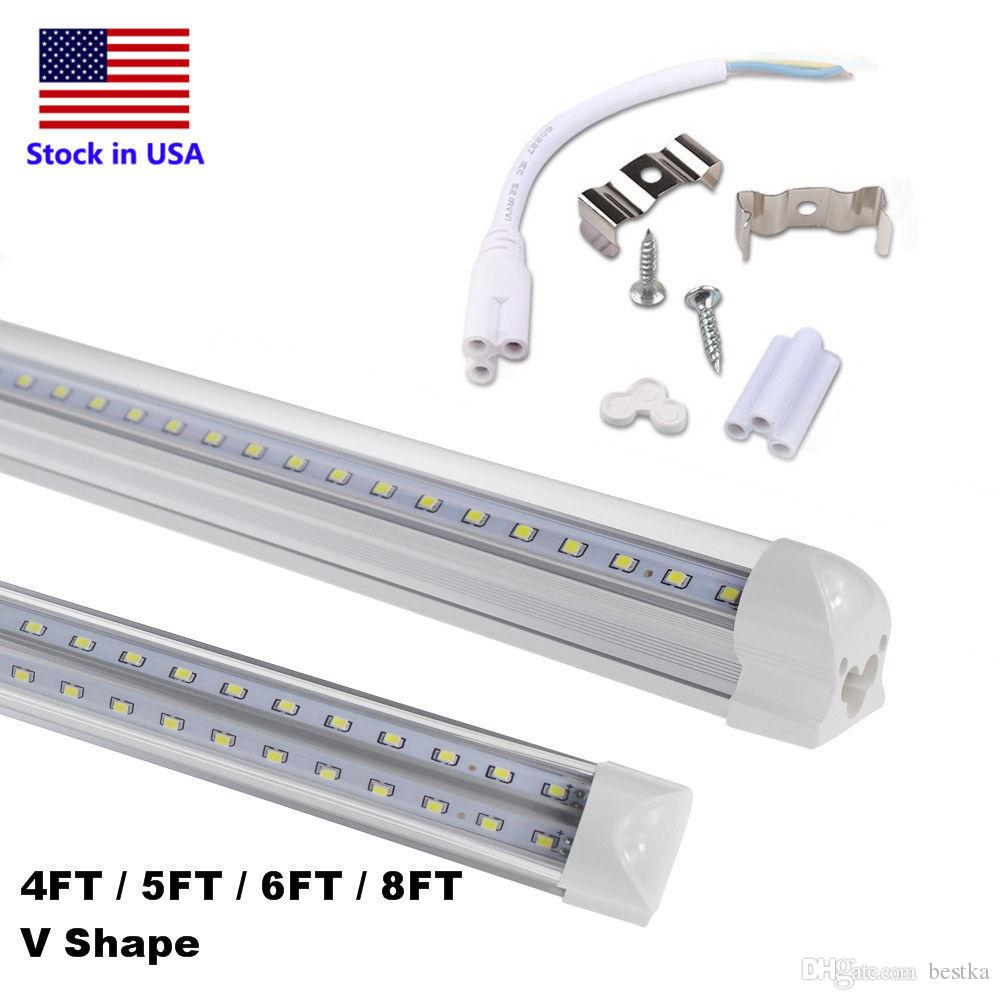 V shaped t8 led tube lights 4ft 40w 5ft 50w 6ft 65w 8ft 90w 24m v shaped t8 led tube lights 4ft 40w 5ft 50w 6ft 65w 8ft 90w 24m integrated cooler door led fluorescent double glow lighting led tube fixture lamp tube from arubaitofo Choice Image