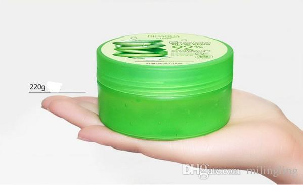 220g BIOAQUA Natural Aloe Vera Smooth Gel Acne Treatment Face Cream for Hydrating Moist Repair After Sun
