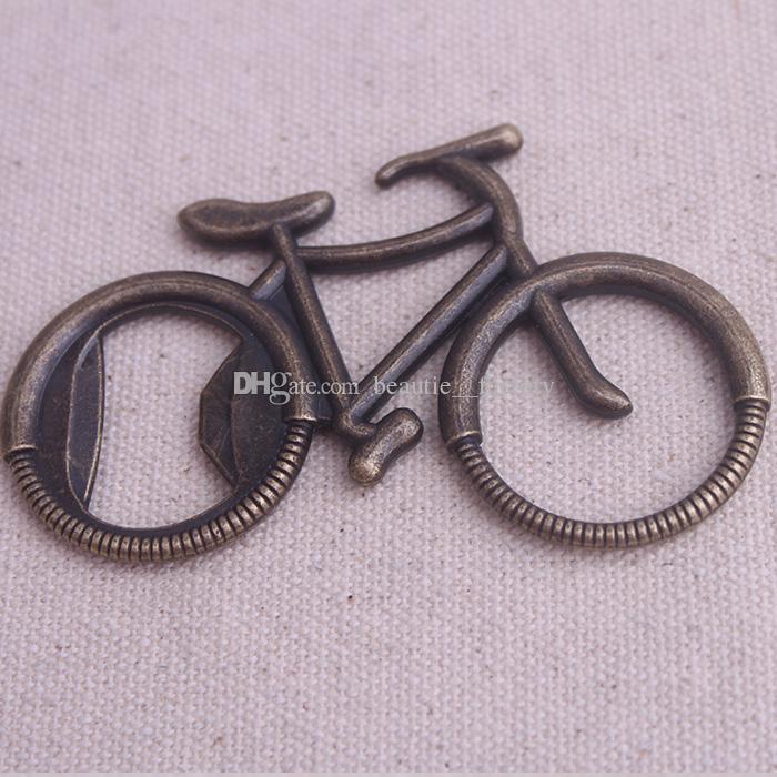 Ретро велосипед Chrome бутылок пива Консервооткрыватели венчания Поставки Anniversary Party Favor Рождественский подарок новый