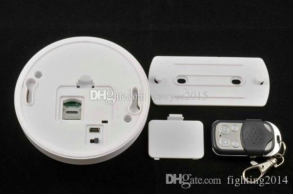 1080P Smoke detector Camera with Night vision Remote Control Smoke Detector DVR Camcorder Motion Detection Video Recorder Full HD Mini DV