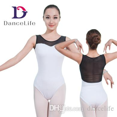 f99160c5e 2019 Tank Adult Dance Leotard Mesh Dance Leotards Women Round Neck Ballet Dance  Leotards Ballet Leotards A2027 From Dancelife, $57.44 | DHgate.Com