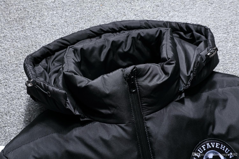 2018 mann winter mode freizeit mit kapuze verdickung warme reine Weiße Ente Daunenjacke gehobenen boutique mit kapuze Daunenmantel 4 Farbe