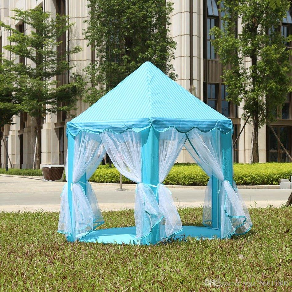 Portable Princess Castle Play Tent Children Activity Fairy House Kids Funny Indoor Outdoor Playhouse Beach Tent Baby Playing Toy Indoor Childrens Tent Girls ... & Portable Princess Castle Play Tent Children Activity Fairy House ...