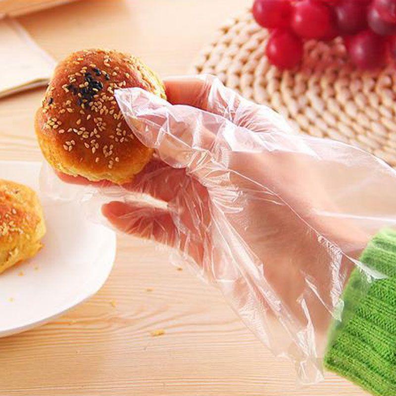 2017 neue Haushaltsreiniger Bequem Kunststoff Transparent Einweghandschuhe Für Industrie Markt Restaurant Home Service