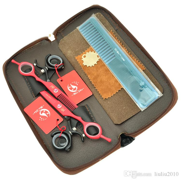 6.0Inch Meisha 360 Degree Rotation Salon Barber Scissors Set Hair Cutting Scissors Thinning Shears JP440C Best Hair Shears,HA0349