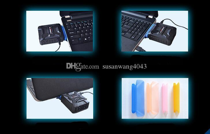 Laptop Cooling Pads Mini Vacuum USB Cooler Air Extracting Cooling Fan for Notebook Laptop Ventilating fan cooling 10-30degree in 5 min DN008