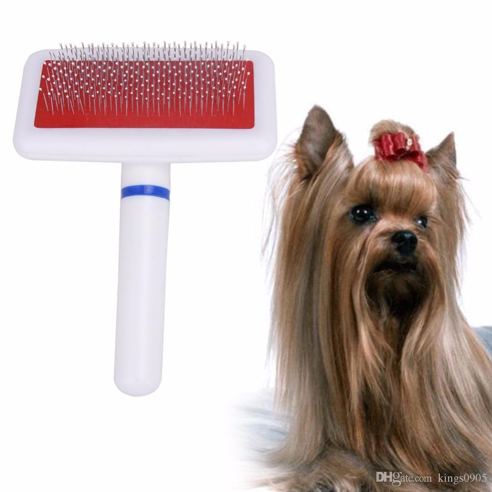 Practical Pet Dog Needle Comb for Dogs Cat Gilling Brush Dog Rake Comb Quick Cleaning Brush Pet Grooming Tool