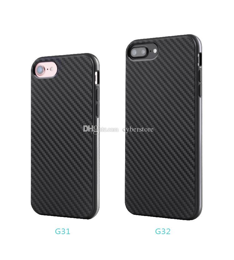 TPU Fiber Carbon Phone Case Soft Silicone Cover For iPhone XS MAX XS XR X 8 7 6 Plus Plus 6S 5 SE
