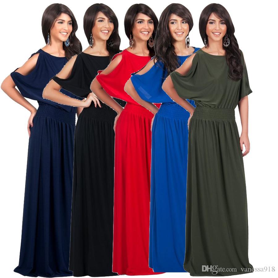 7d8987d79abc O Neck Long Black Dress Sexy Oversized Fat Ladies Dresses Bandage  Comfortable Spring Batwing Sleeve Dress LMT-061 Night Dresses Mini Dress  Oversized Dresses ...