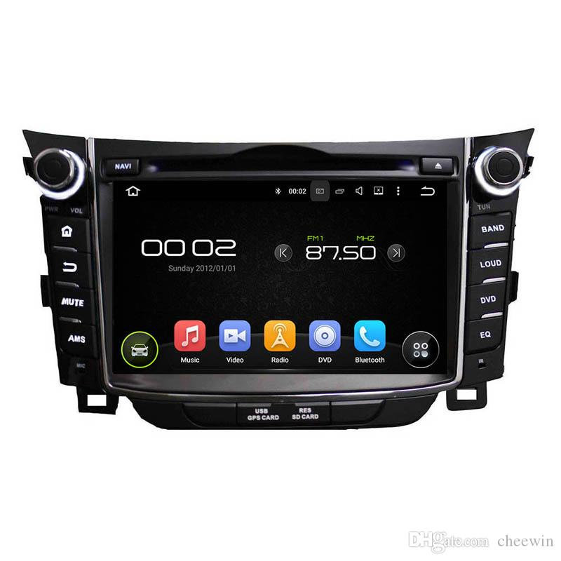 2016 Best price 7inch Android5.1 Car DVD player for Hyundai I30 with GPS,Steering Wheel Control,Bluetooth, Radio