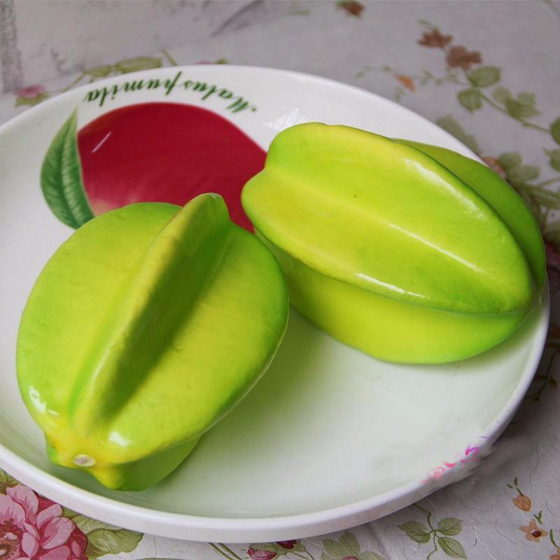 2 adetKarambola Sahte Meyve Simülasyon Için Turuncu Kalıp Köpük Yapay Süsleme Ev Düğün Bilişsel Oyuncak Yemek Masası Noel Süslemeleri