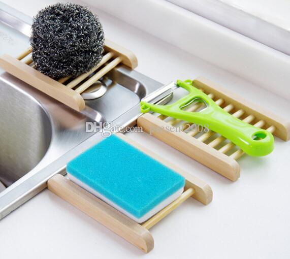 패션 욕실 비누 트레이 수제 나무 접시 상자 홀더로 나무 비누 접시 홈 액세서리