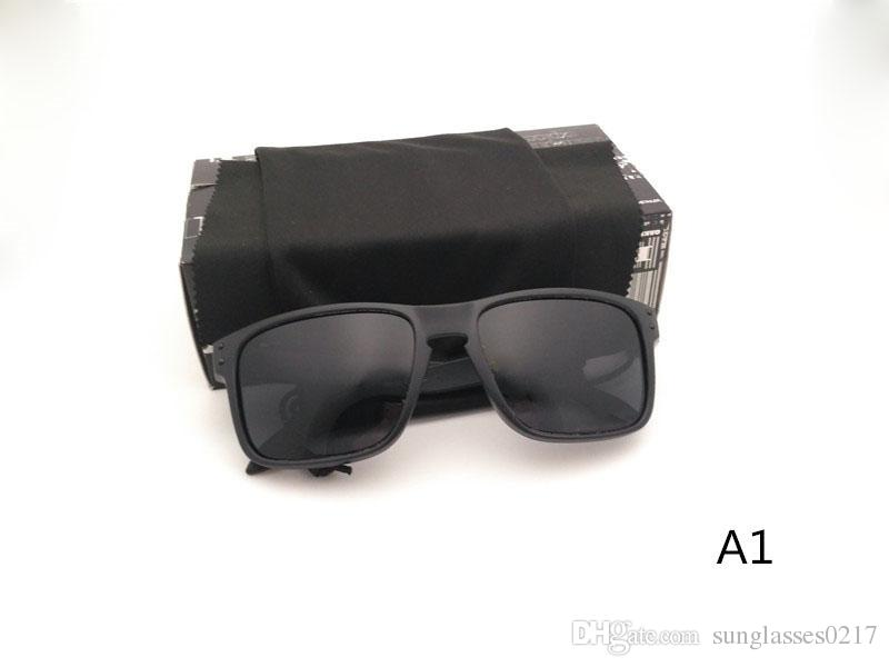 Best quality Sunglasses Men Women HOLBROOK 9102 UV400 polarized Protection Sport SunGlasses Mens Outdoor Sunglass