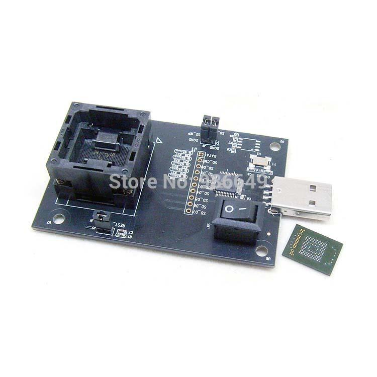eMMC 100 Test Socket Programming U disk repair phone font seat