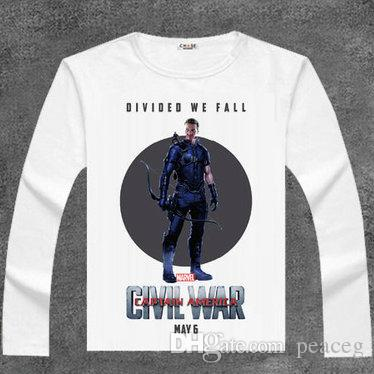 fe95c9358b4a Hawkeye T Shirt Good Hero Long Sleeve Goliath Ronin Elastic Tees Film  Clothing Men Cotton Tshirt Crazy Shirt Designs A Shirt A Day From Peaceg,  ...