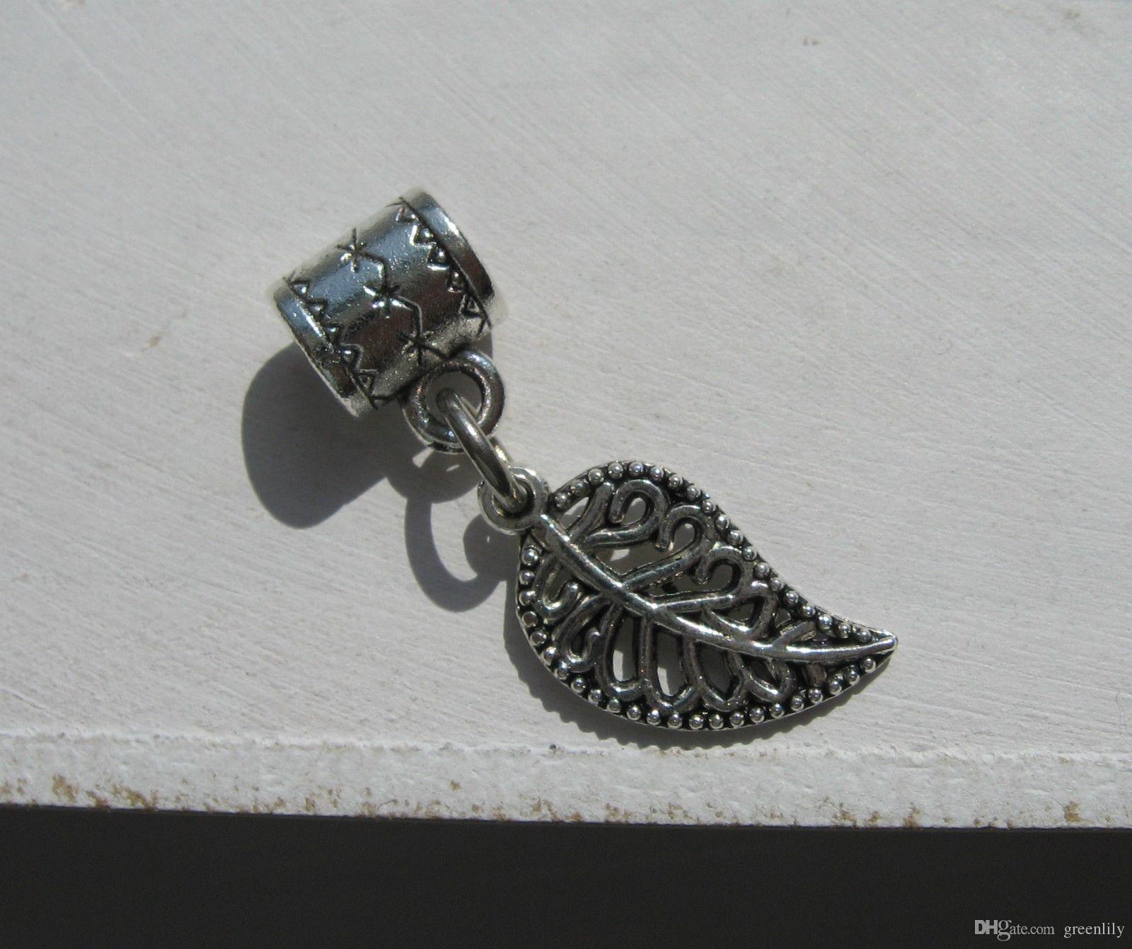 Tibetan Dread Dreadlock Beads Mix Hair Braid Cuff Clip Hole Accesorios para el cabello