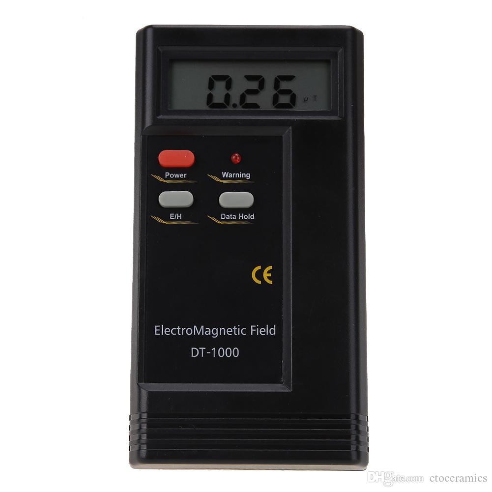 Professionelle DT-1000 Digital LCD Elektromagnetische Strahlung Detektor EMF Meter Dosimeter Tester DT-1000 DT1000
