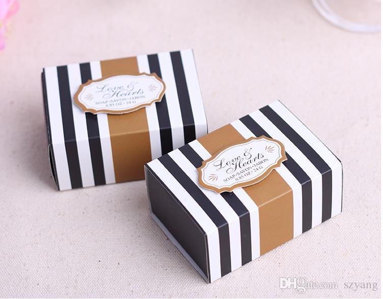 100boxes / Coração Clássico Scented Soap Bridal Wedding Favors