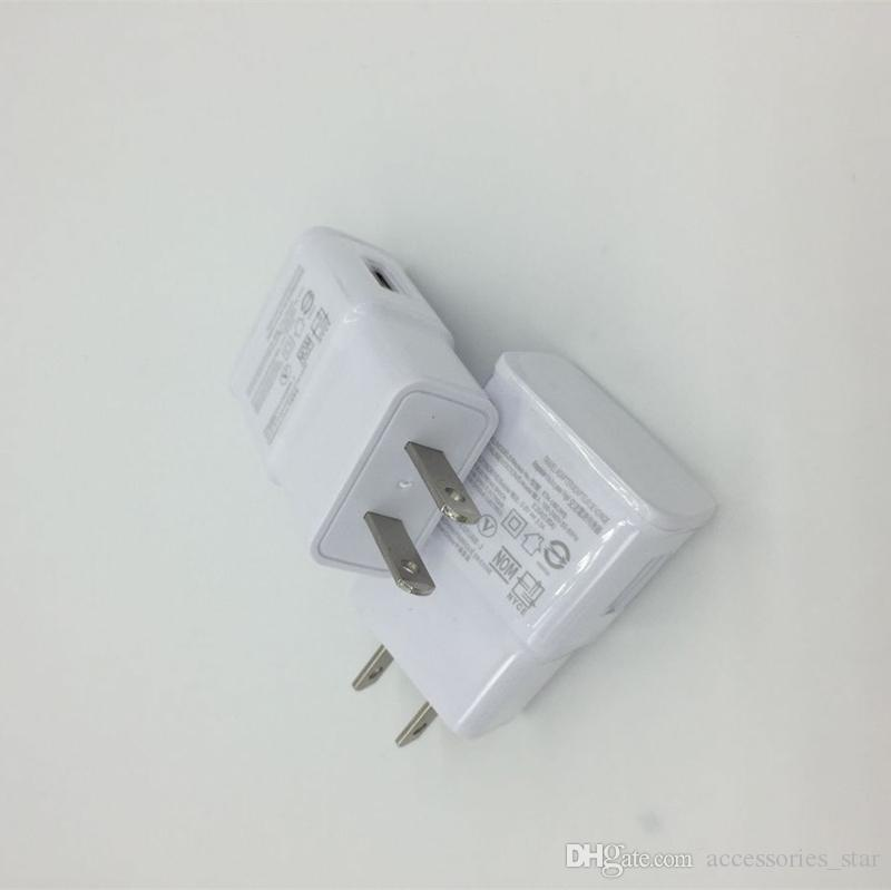 Alta calidad 5V 2A Micro USB Cargador de pared Adaptador de viaje para el hogar, enchufe de EE. UU., Sin LOGO Universal para Galaxy S7 Edge S6Universal 5V 2A enchufe de EE.UU.