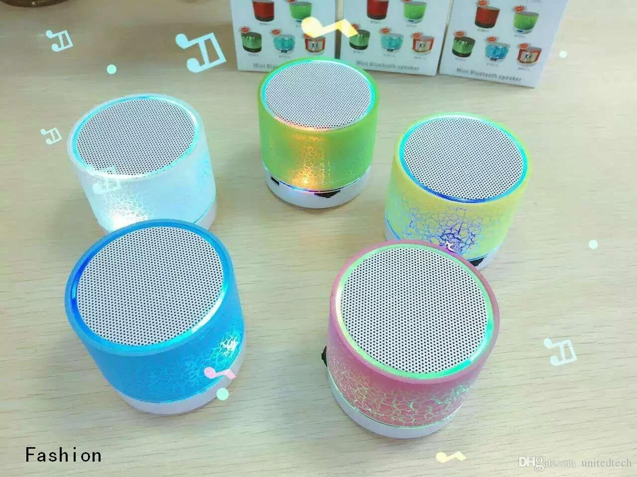 By DHL Free Hot sale Universal New MINI LED Wireless Bluetooth Speaker TF USB Portable Music Sound Box Subwoofer Loudspeakers For phone PC