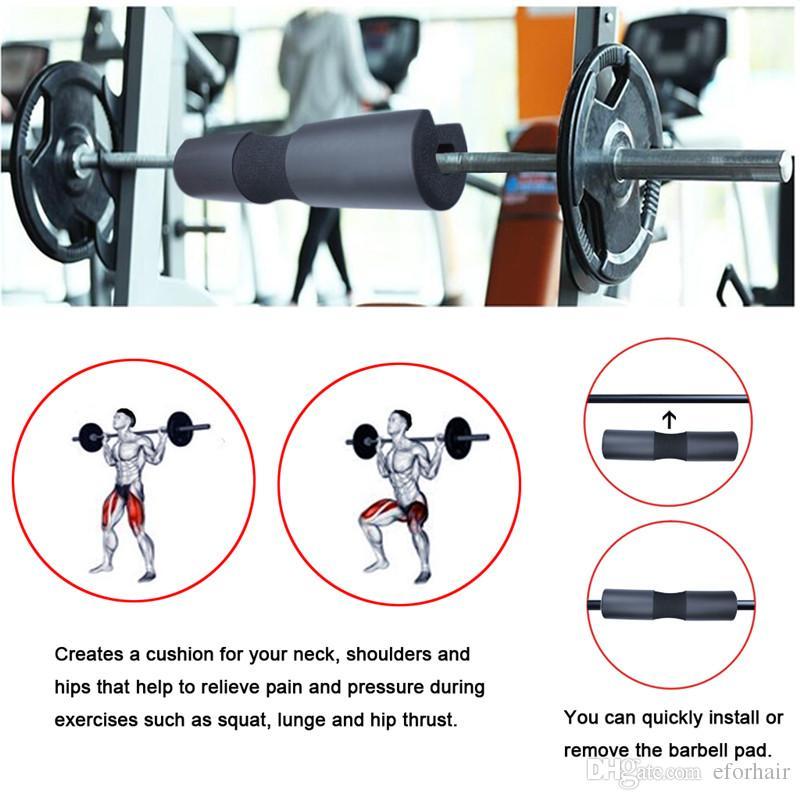 Spallacci imbottiti lo squat con bilanciere Spallaccio squat Affondi Spinte anca Sollevamento pesi Protezione lo sport
