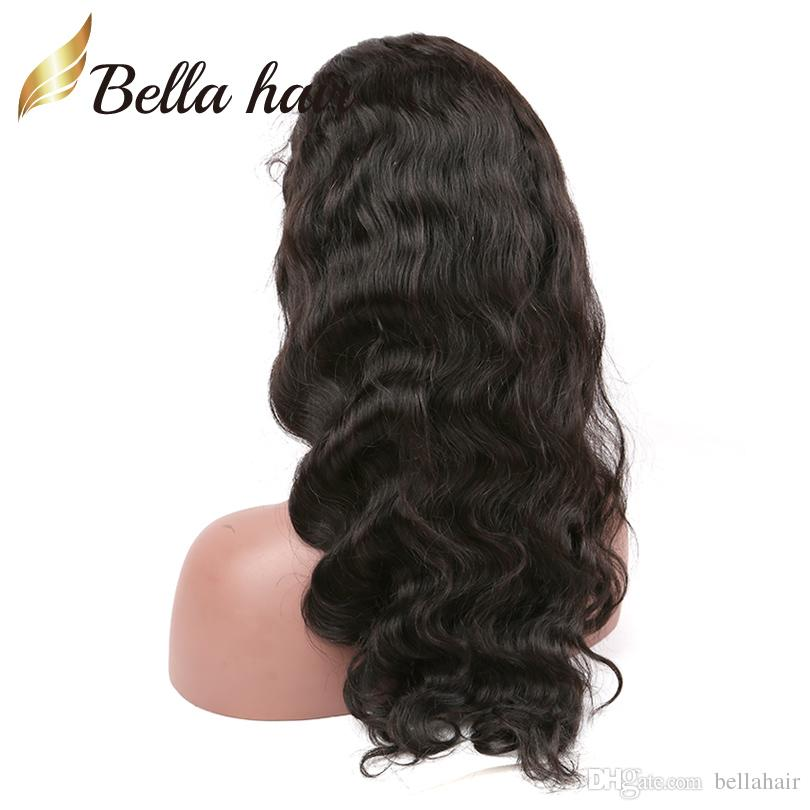Brazilian Human Hair Wigs 360 Lace Wigs for Black Women Lace Front Wigs Body Wave Natural Color Density 130% OR 150% Bellahair