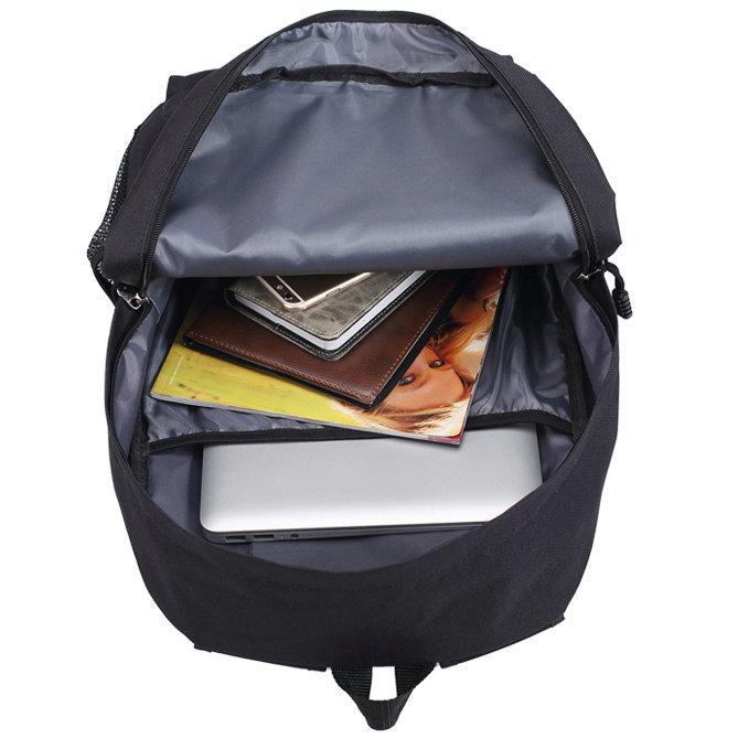 حقيبة ظهر Chelle Rae الساخنة معلقة حتى اليوم حزمة روك مدرسة حقيبة الفرقة packsack الترفيه الظهر الرياضة المدرسية daypack في الهواء الطلق