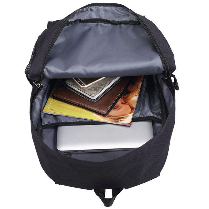 We know backpack Hand day pack Cool school bag Leisure packsack Pure black red blue ivory rucksack Sport schoolbag Outdoor daypack