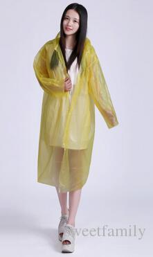 200 stücke Einweg Regenmantel Erwachsene Notfall Wasserdichte Kapuze Poncho Reise Camping Muss Regen Mantel Unisex Großhandel
