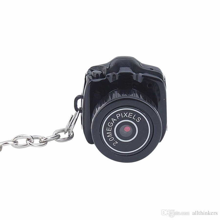 Mini Câmera Y2000 480 P HD Webcam Gravador de Voz de Vídeo Micro Cam Menor Camara DV Espia Web Cam Digital DHL Frete Grátis