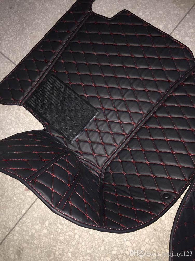 Leather 5d Car Floor Mats For Mercedes Benz G Class 2018 Car