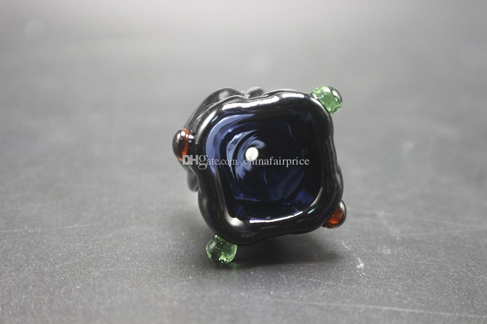 New Grace Glass Bowl Male Bowls 14mm 18mm Tobacco Bowl For Glass Pipe Water Pipes Smoking Pipes Water Bong DHL