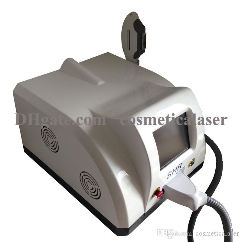Epilazione rapida a caldo OPT IPL SHR laser / depilazione permanente portatile SHR indolore