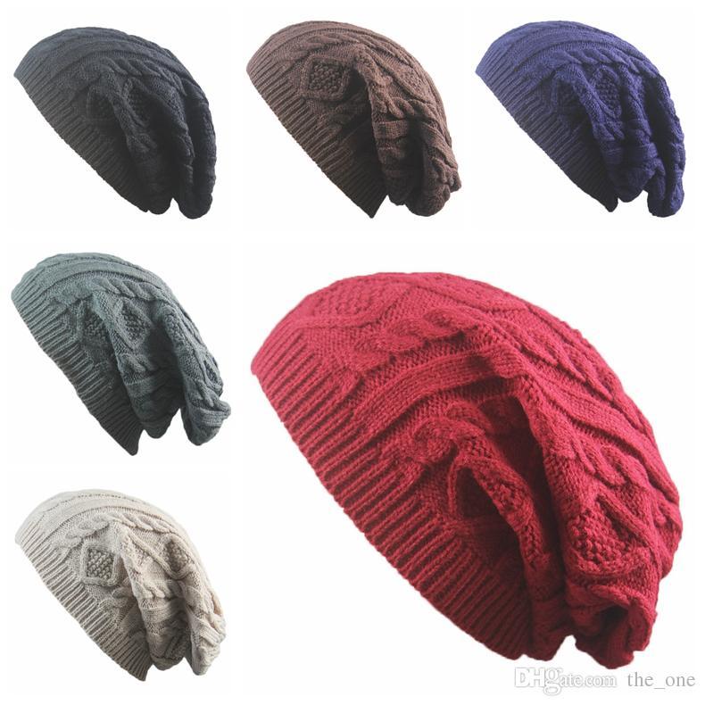 5fa5c90fb93 Fashion Girls Women New Design Caps Beanie Twist Pattern Solid Color ...