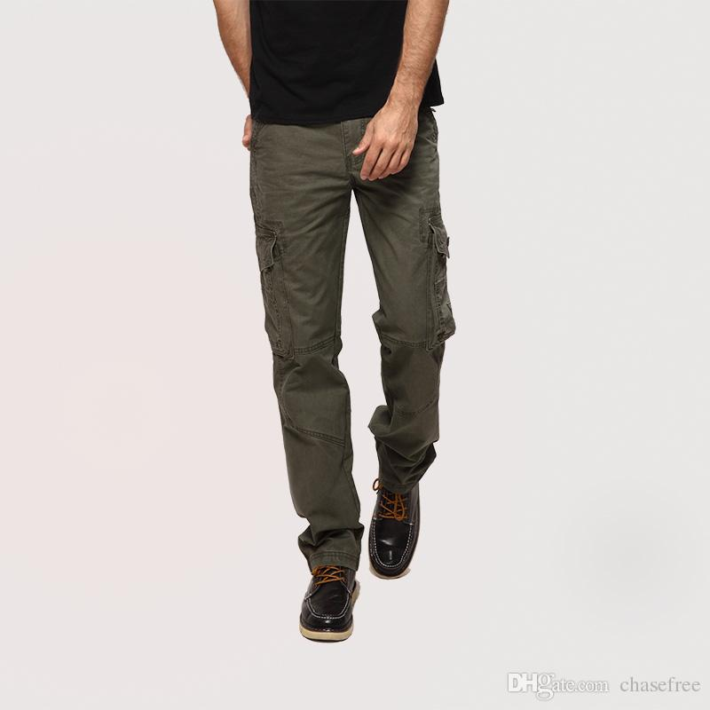 Compre Hombres Joggers Cargo Pantalones Militares Para Hombres Multi  Bolsillo Pantalones Tácticos Ejército Pantalones De Camuflaje Pantalones De  Moda 381 A ... 4ee06015254