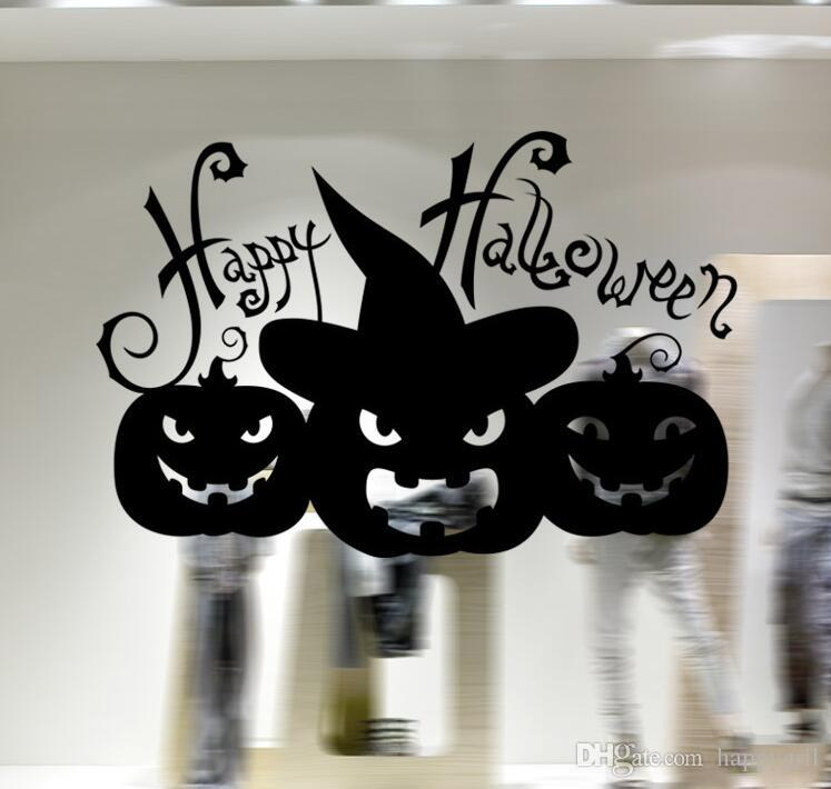 Foreign trade vinly Halloween series glass window living room bedroom decoration wall stickers